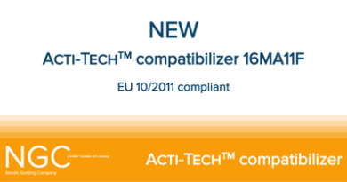 NGC launches Acti-Tech grade approved for food contact applications