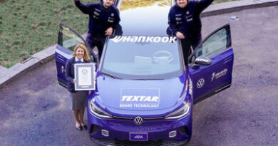 Hankook Tire helps Volkswagen set Guinness World Record for the longest journey by electric car