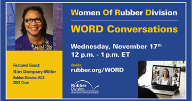 The Rubber Division's last WORD Conversation of the year to feature Kim Dempsey-Miller